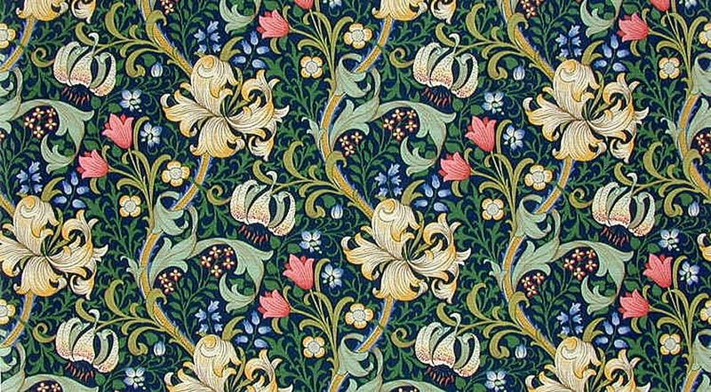 william-morris-9-Golden-Lily-blue
