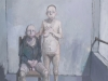 jean rustin – couple près de la fenêtre - 1995