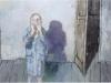jean rustin – les mains sur le visage - 2001